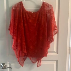 Lacey top short sleeve